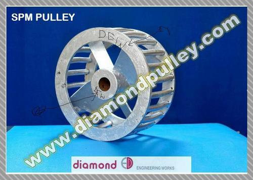 Cast Iron Elevator Pulley – Type SPM