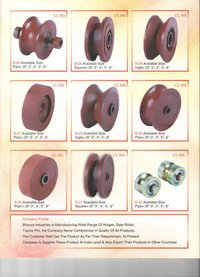 'V' Bearing Gate Roller