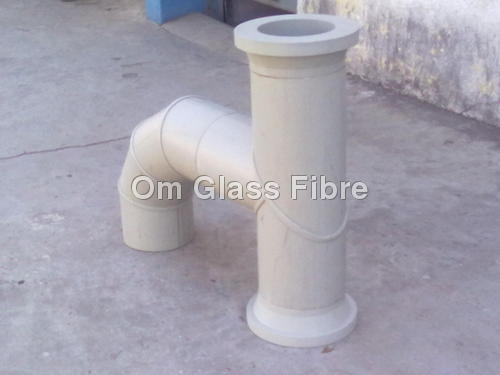 PPH + FRP PIPE FITTING