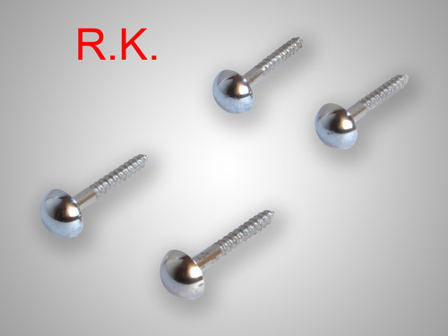 Dome Head Mirror Screws