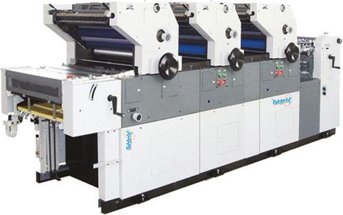 Three Color Non Woven Printing Machine