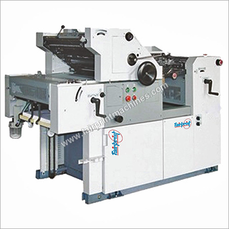 Single Color Non-Woven Bag Printing Machine