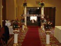 Wedding Fiber Roman Pillars