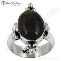 Hot World Antique Labradorite Silver Gemstone Ring
