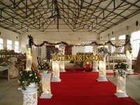 Wedding Crystal Fiber Pillars