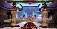 Wedding Aisle Way New Lighted Pillars