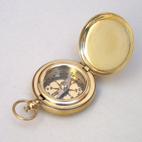 Brass Dalvey Style Compass