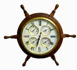 Wooden World Timer Clock