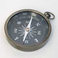 Nautical Flat Compass