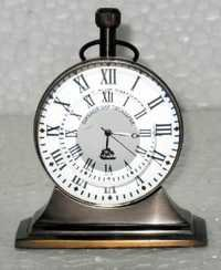 Copper/Brass Roman Dial Trophy Desk Clock