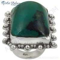HOT Luxury Fashion Turquoise Gemstone Silver Ring