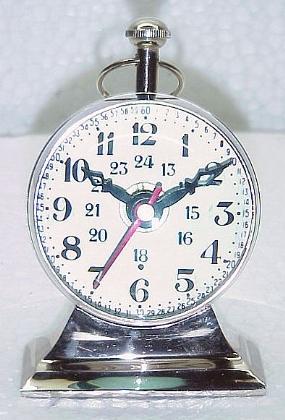 Brass Trophy Stand Clock
