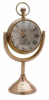 Brass Desktop Clock