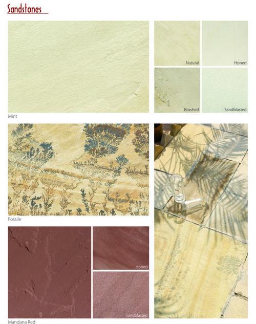 Mint Sandstone Slab