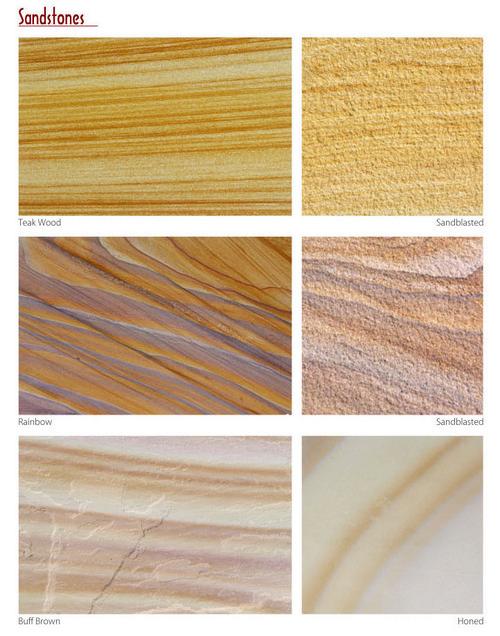 Rainbow Sandstone Slab