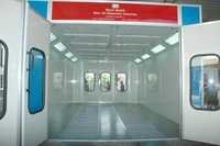 Dry Type Down Draft Paint Booth