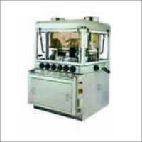 HIGH SPEED DOUBLE ROTARY TABLET PRESS WITH PRE-COMPRESSION
