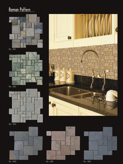 Mosaic Roman Pattern Tiles