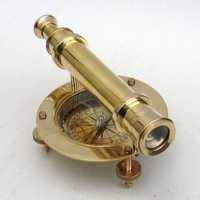 Nautical Brass Alidade Compass
