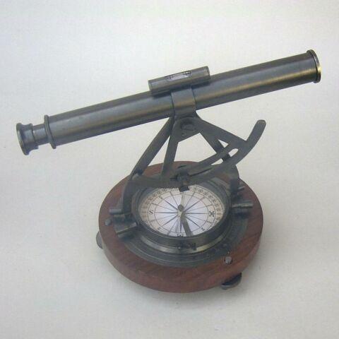 Nautical Antique Odolite Alidade Compass