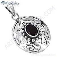 Wholesale Various Styles Designer Garnet Gemstone Silver Pendant