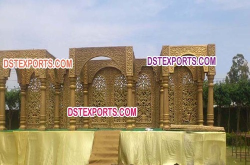 Indian Wedding Jodha Akbar Mandap