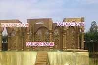 Indian Wedding Jodha Akbar Mandap