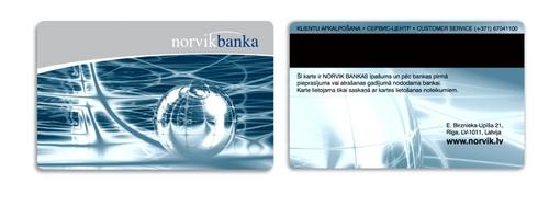 Sliver Metallic Membership Card