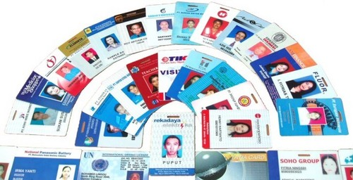 PLASTIC PVC COMPANY CARD