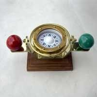 Nautical Brass Port and Starboard Gimball Compass
