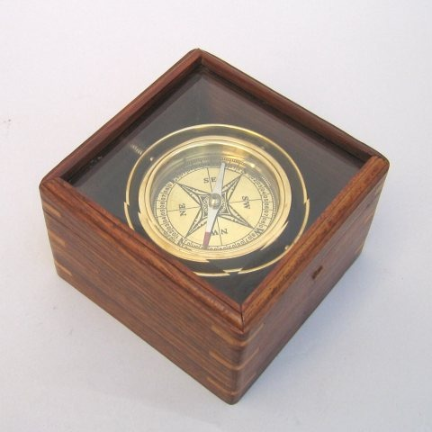 Nautical Brass Master Gimball Compass