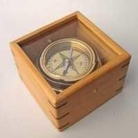 Brass Master Gimball Compass