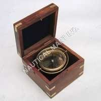 Nautical Gimball Box Compass