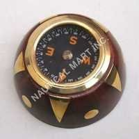 Stylish Nautical Brass Wooden Compass