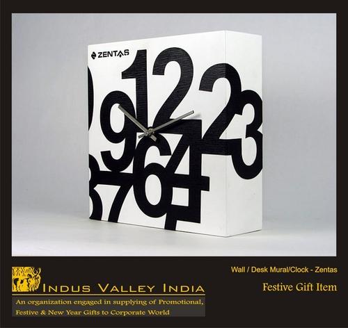 Wall/Desk Mural/Clock- Zentas