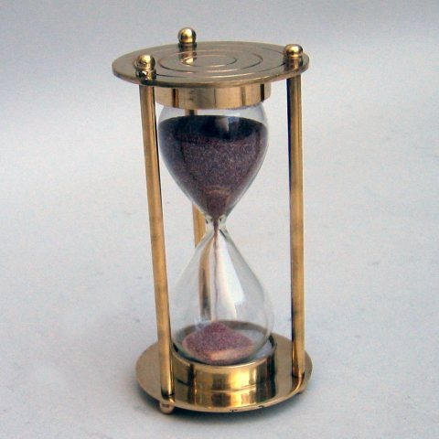 NAUTICAL BRASS SAND TIMER 4