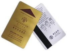 Magnetic Hotel Key Card