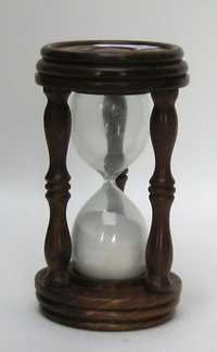 NAUTICAL WOODEN SAND TIMER 7