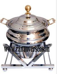 STAINLESS STEEL V SHAPE CHAFING DISH