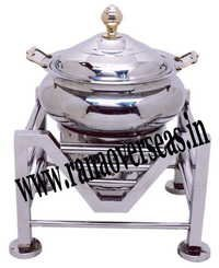 Steel Chafing Dish in M Shape