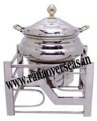 Steel Chafing Dish in Unique Design