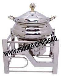 Steel Chafing Dish in Unique Design