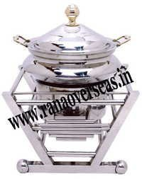 Chafing Dish in steel metal