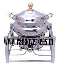 Shiny Steel Metal Chafing Dish