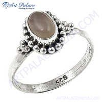 Lastest luxury Chalce  gemstone Silver Ring