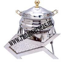FISH SHAPE STAINLESS STEEL CHAFING DISH