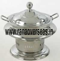 Steel Chafing Dish in Round Shape
