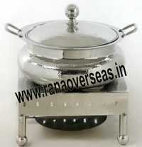 Unique Steel Chafing Dish in Round Shape