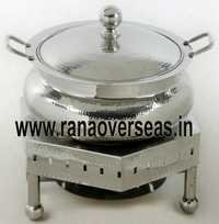 Steel Chafing Dish in Unique Shape