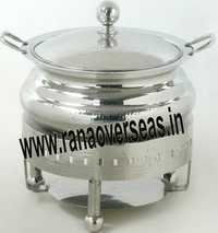 Steel Chafing Dish in Round Design